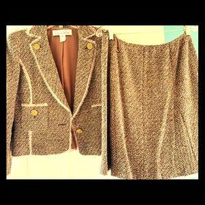 Oscar De La Renta Vintage 2 Piece Suit!